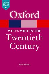 Who's Who in the Twentieth Century