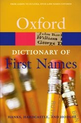 Dictionary of First Names - Oxford Reference