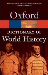 A Dictionary of World History$