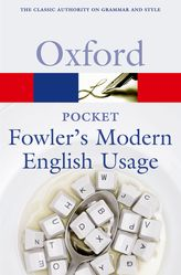 Pocket Fowler's Modern English Usage$