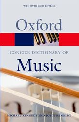 The Concise Oxford Dictionary of Music$