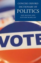 Concise Oxford Dictionary of Politics - Oxford Reference