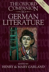 The Oxford Companion to German Literature$