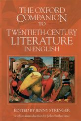 The Oxford Companion to Twentieth-Century Literature in English$