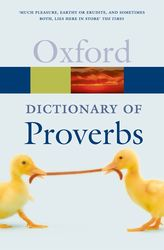 The Oxford Dictionary of Proverbs$