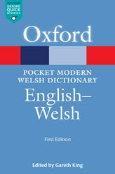 Pocket Modern Oxford Welsh Dictionary: English-Welsh