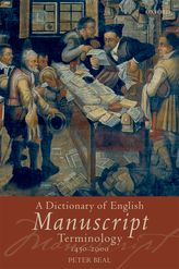 A Dictionary of English Manuscript Terminology 1450–2000$