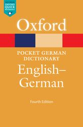 Pocket Oxford German Dictionary: English German