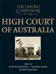 The Oxford Companion to the High Court of Australia$
