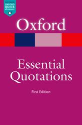Oxford Essential Quotations