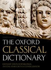 Cover of the Oxford Classical Dictionary