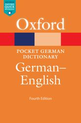 Pocket Oxford German Dictionary: German-English