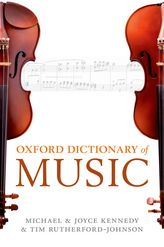 The Oxford Dictionary of Music$