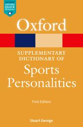 A Supplementary Dictionary of Sports Personalities$