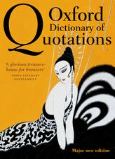 Oxford Dictionary of Quotations$
