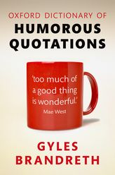 Oxford Dictionary of Humorous Quotations$