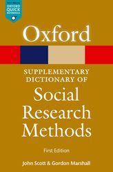A Supplementary Dictionary of Social Research Methods
