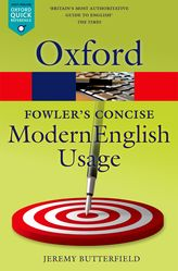 Fowler's Concise Dictionary of Modern English Usage$