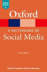 A Dictionary of Social Media$