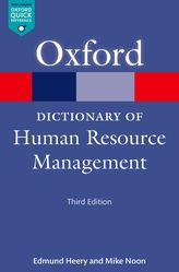 A Dictionary of Human Resource Management$