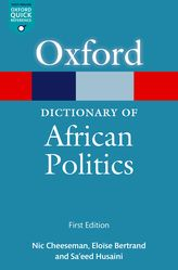 A Dictionary of African Politics