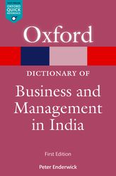 A Dictionary of Business and Management in India