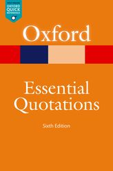 Oxford Essential Quotations$
