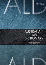 Australian Law Dictionary$