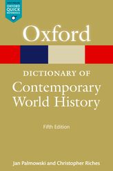 A Dictionary of Contemporary World History$