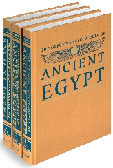 The Oxford Encyclopedia of Ancient Egypt$