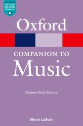 Oxford Companion to Music - Oxford Reference