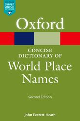 The Concise Dictionary of World Place-Names$