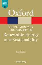 A Supplementary Dictionary of Renewable Energy and Sustainability$