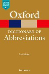 A Dictionary of Abbreviations$