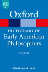 Dictionary of Early American Philosophers$