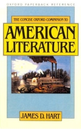 The Concise Oxford Companion to American Literature$