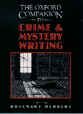 The Oxford Companion to Crime and Mystery Writing$