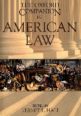 The Oxford Companion to American Law$