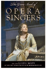 The Grove Book of Opera Singers$
