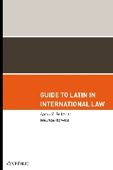 Guide to Latin in International Law$