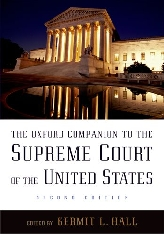 The Oxford Companion to the Supreme Court of the United States$